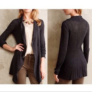Anthropologie Sz M Knitted & Knotted Wrap Cardigan